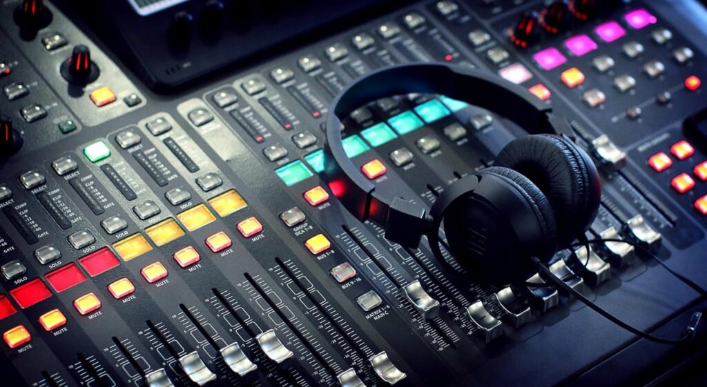 Mixing Desk Image