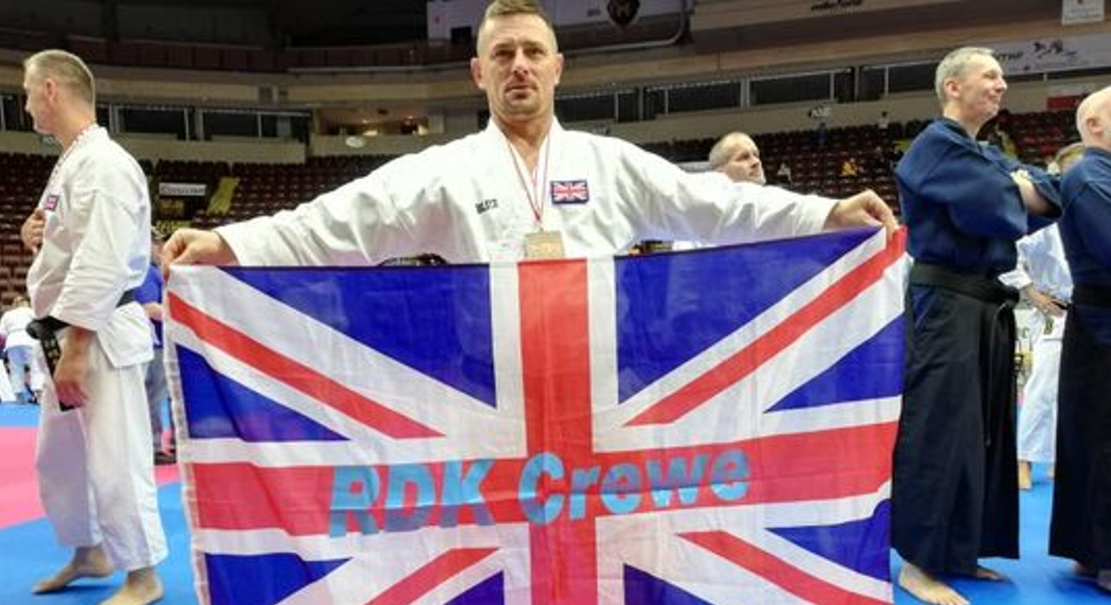 Sensei Tomasz set to Resume Fundraising for Cancer Research UK